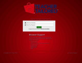 myportal.schoolkidz.com screenshot