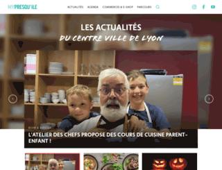 mypresquile.fr screenshot