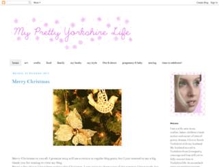 myprettyyorkshirelife.blogspot.co.uk screenshot