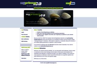 myprivacy.ca screenshot