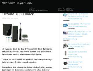 myproduktbewertung.de screenshot