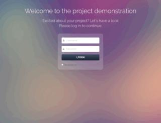 myprojectdemonstration.com screenshot