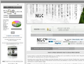 myproxylists.com screenshot