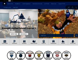 mypusd.prescottschools.com screenshot