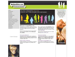 myqualities.com screenshot