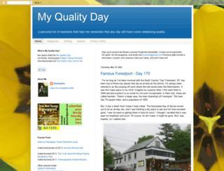 myqualityday.blogspot.com screenshot