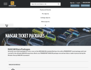 myracetravel.com screenshot