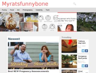 myratsfunnybone.com screenshot