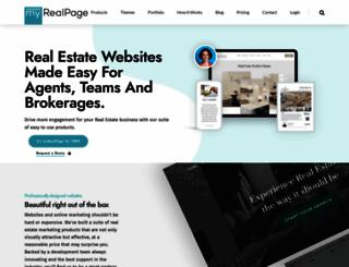 myrealpage.com screenshot