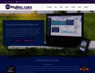 myrecdept.com screenshot