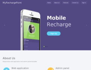 myrechargepoint.com screenshot