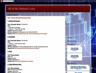 myreferallinks.blogspot.com screenshot