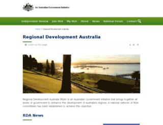 myregion.gov.au screenshot