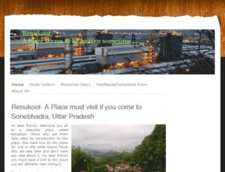 myrenukoot.jimdo.com screenshot
