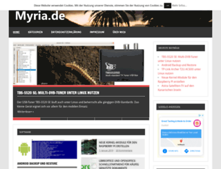myria.de screenshot