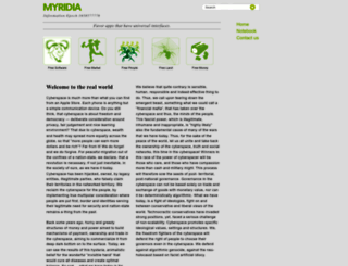 myridia.com screenshot