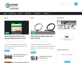 myrietech.com screenshot