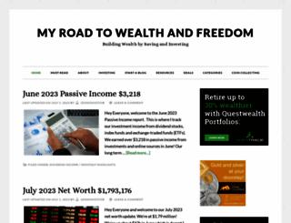 myroadtowealthandfreedom.com screenshot