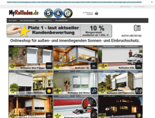 myrollladen.de screenshot