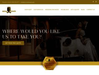 myroyalcoach.com screenshot