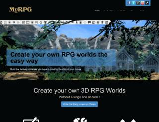 myrpg.eu screenshot