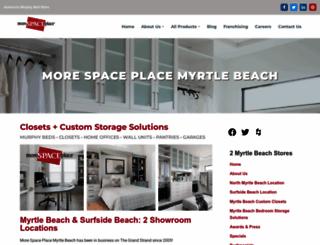 myrtlebeach.morespaceplace.com screenshot