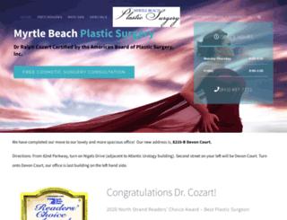 myrtlebeachplasticsurgery.co screenshot