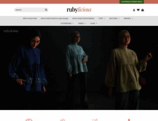 myrubylicious.com screenshot