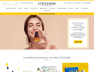 mysafe.loccitane.com screenshot