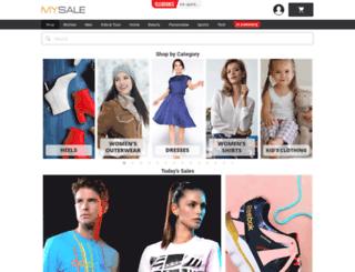 mysale.co.th screenshot