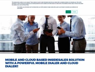 mysalesdialer.com screenshot