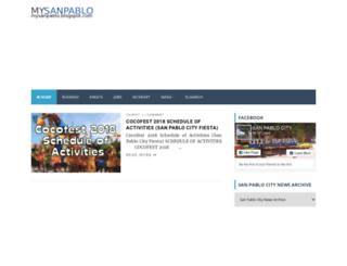 mysanpablo.blogspot.com screenshot
