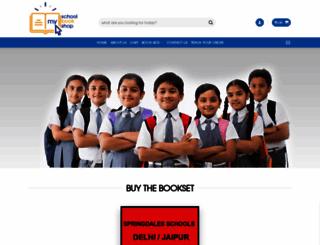 myschoolbookshop.com screenshot