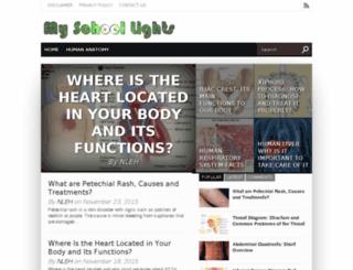 myschoollights.com screenshot