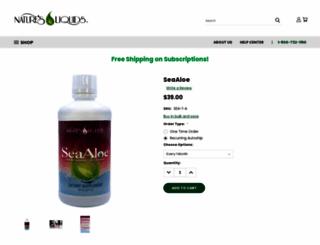 myseaaloe.com screenshot