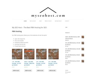 myseohost.com screenshot