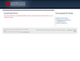 myservices.azbn.gov screenshot