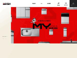 myset.co.jp screenshot