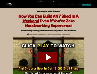 myshedplans.com screenshot
