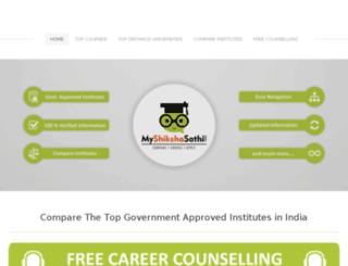 myshikshasathi.com screenshot