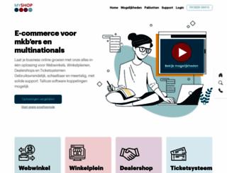 myshop.com screenshot