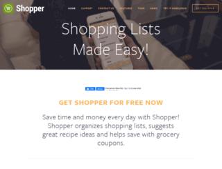 myshopperapp.com screenshot