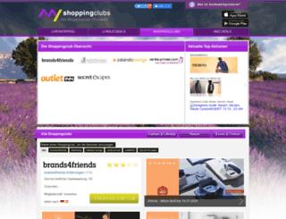 myshoppingclubs.de screenshot