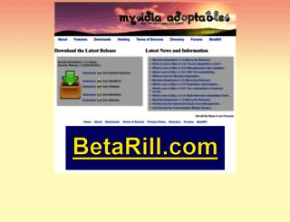 mysidiaadoptables.com screenshot