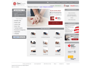 mysimcenter.com screenshot