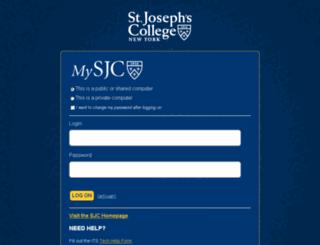 mysjc.sjcny.edu screenshot