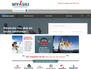 myski.fr screenshot