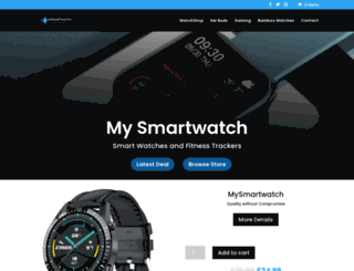 mysmartwatch.co.uk screenshot