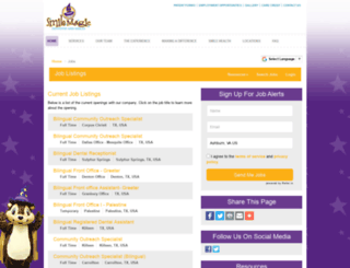 mysmilemagic.hirecentric.com screenshot