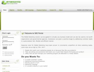 mysmshaven.com screenshot